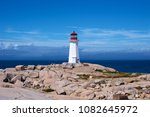 Wide Shot Of Peggy\'s Cove...