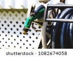 watering garden equipment ... | Shutterstock . vector #1082674058
