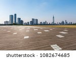 panoramic skyline and buildings ... | Shutterstock . vector #1082674685
