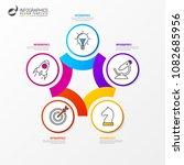 infographic design template.... | Shutterstock .eps vector #1082685956