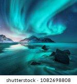 Aurora. Northern Lights In...