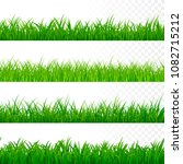 seamless gorisontal grass... | Shutterstock .eps vector #1082715212