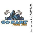 go kart | Shutterstock .eps vector #108272678
