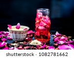 close up of ayurvedic and...   Shutterstock . vector #1082781662