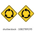 isolated left and right... | Shutterstock .eps vector #1082789195
