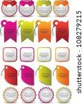web element set | Shutterstock .eps vector #108279215