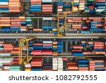 sea containers does not contain ... | Shutterstock . vector #1082792555