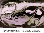 marble abstract acrylic... | Shutterstock . vector #1082793602