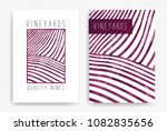 templates with wine designs.... | Shutterstock .eps vector #1082835656