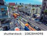hollywood los angeles... | Shutterstock . vector #1082844098
