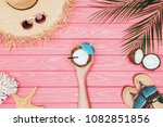 cropped shot of woman holding...   Shutterstock . vector #1082851856