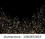 gold glitter holiday realistic...   Shutterstock .eps vector #1082852825