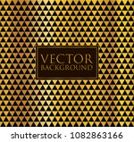 seamless gold and black vector...   Shutterstock .eps vector #1082863166