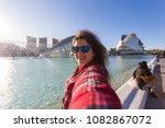 valencia  spain  january  01 ... | Shutterstock . vector #1082867072