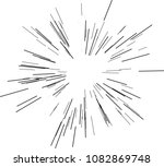 speed lines. radiating from the ... | Shutterstock .eps vector #1082869748