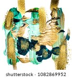 art and gold. faded green....   Shutterstock . vector #1082869952