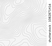 topographic map background... | Shutterstock .eps vector #1082871416