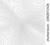 topographic map background... | Shutterstock .eps vector #1082871428