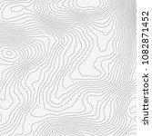 topographic map background... | Shutterstock .eps vector #1082871452
