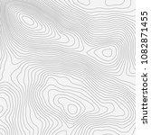 topographic map background... | Shutterstock .eps vector #1082871455
