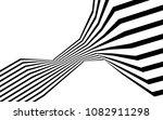 black and white stripe line... | Shutterstock .eps vector #1082911298