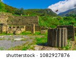 the ancient city gortys ... | Shutterstock . vector #1082927876