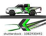 car livery vector. abstract... | Shutterstock .eps vector #1082930492