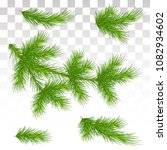 a large set of different green... | Shutterstock .eps vector #1082934602