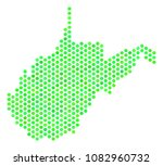 fresh green west virginia state ... | Shutterstock .eps vector #1082960732
