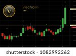 vechain cryptocurrency coin... | Shutterstock .eps vector #1082992262