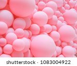 Texture Of Pink Balloons As...
