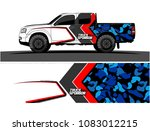 car livery graphic vector.... | Shutterstock .eps vector #1083012215