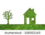 concept or conceptual house...   Shutterstock . vector #108302165
