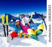Skiing  Winter Fun   Happy...