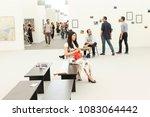 new york  ny   may 3  2018 ...   Shutterstock . vector #1083064442