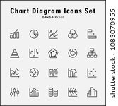 thin line icons set of graphic... | Shutterstock .eps vector #1083070955