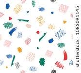 painting brush creative...   Shutterstock .eps vector #1083091145