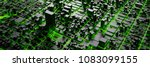 techno mega city  urban and...   Shutterstock . vector #1083099155