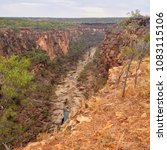 porcupine gorge national park... | Shutterstock . vector #1083115106