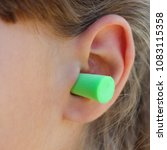 ear plugs to protect... | Shutterstock . vector #1083115358