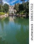 villa d'este tivoli  italy  ... | Shutterstock . vector #1083117212