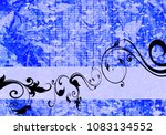floral background design | Shutterstock . vector #1083134552