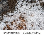 Small photo of Hail ice balls