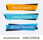 collection of sale discount... | Shutterstock .eps vector #1083159818