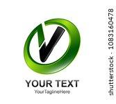 initial letter v logo template... | Shutterstock .eps vector #1083160478