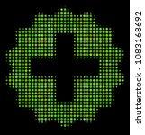 create halftone vector icon.... | Shutterstock .eps vector #1083168692