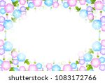 morning glory summer scenery... | Shutterstock .eps vector #1083172766