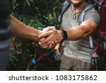 man giving a helping hand | Shutterstock . vector #1083175862