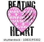 stylish trendy slogan tee t... | Shutterstock .eps vector #1083195302