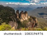the three sisters and mount... | Shutterstock . vector #1083196976